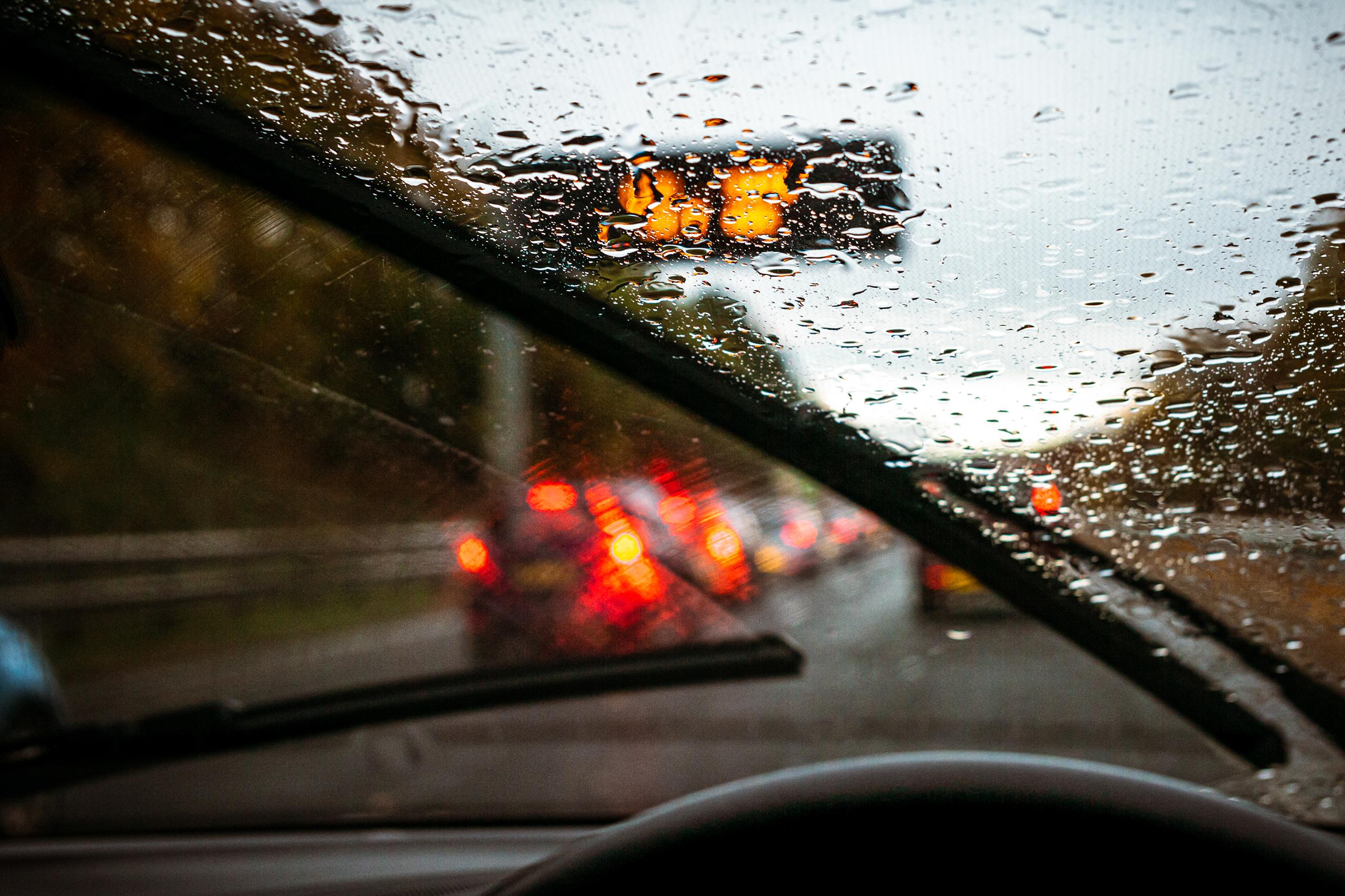 Driving Your Van In The Rain