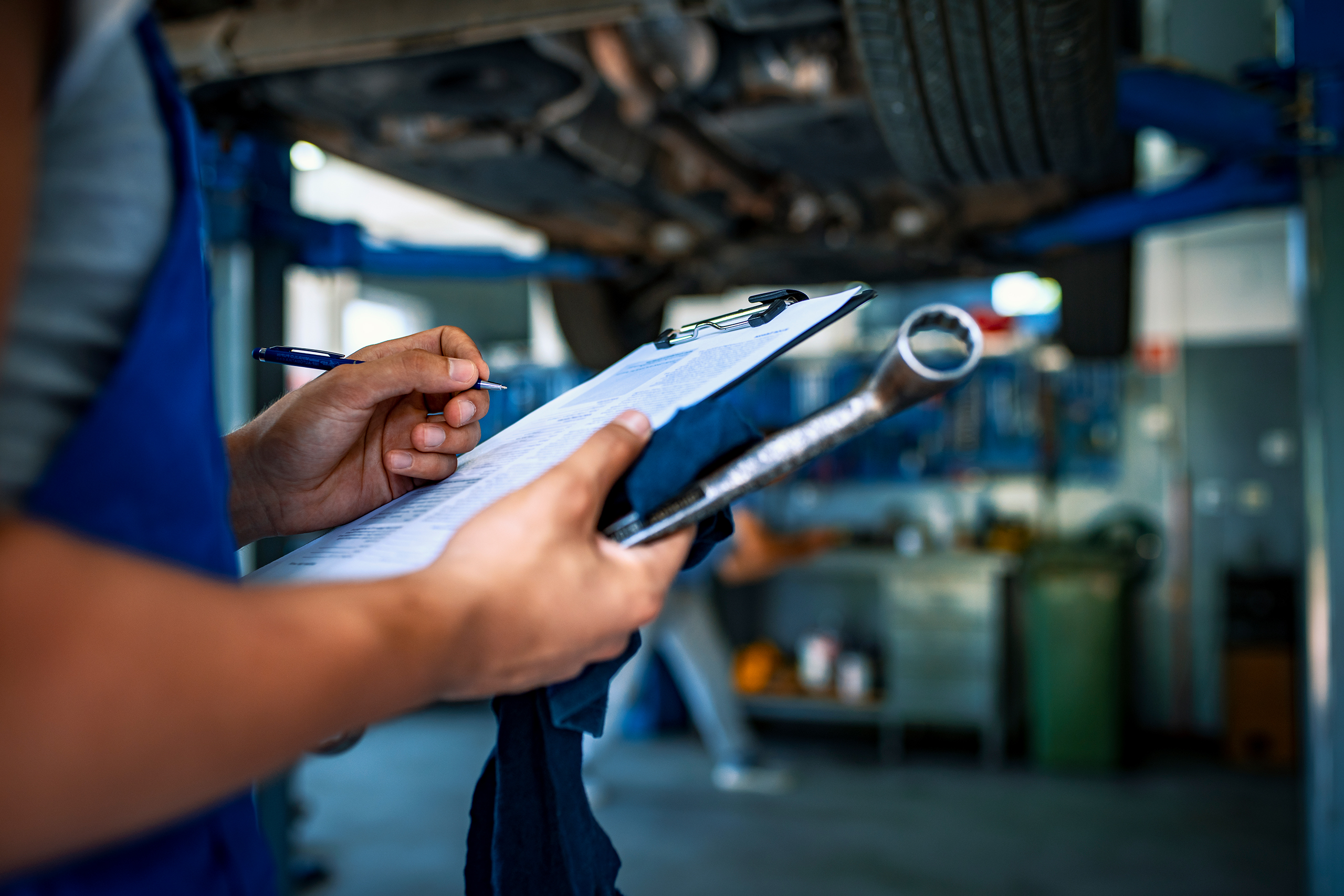 End of Contract Hire Agreement – Wear & Tear