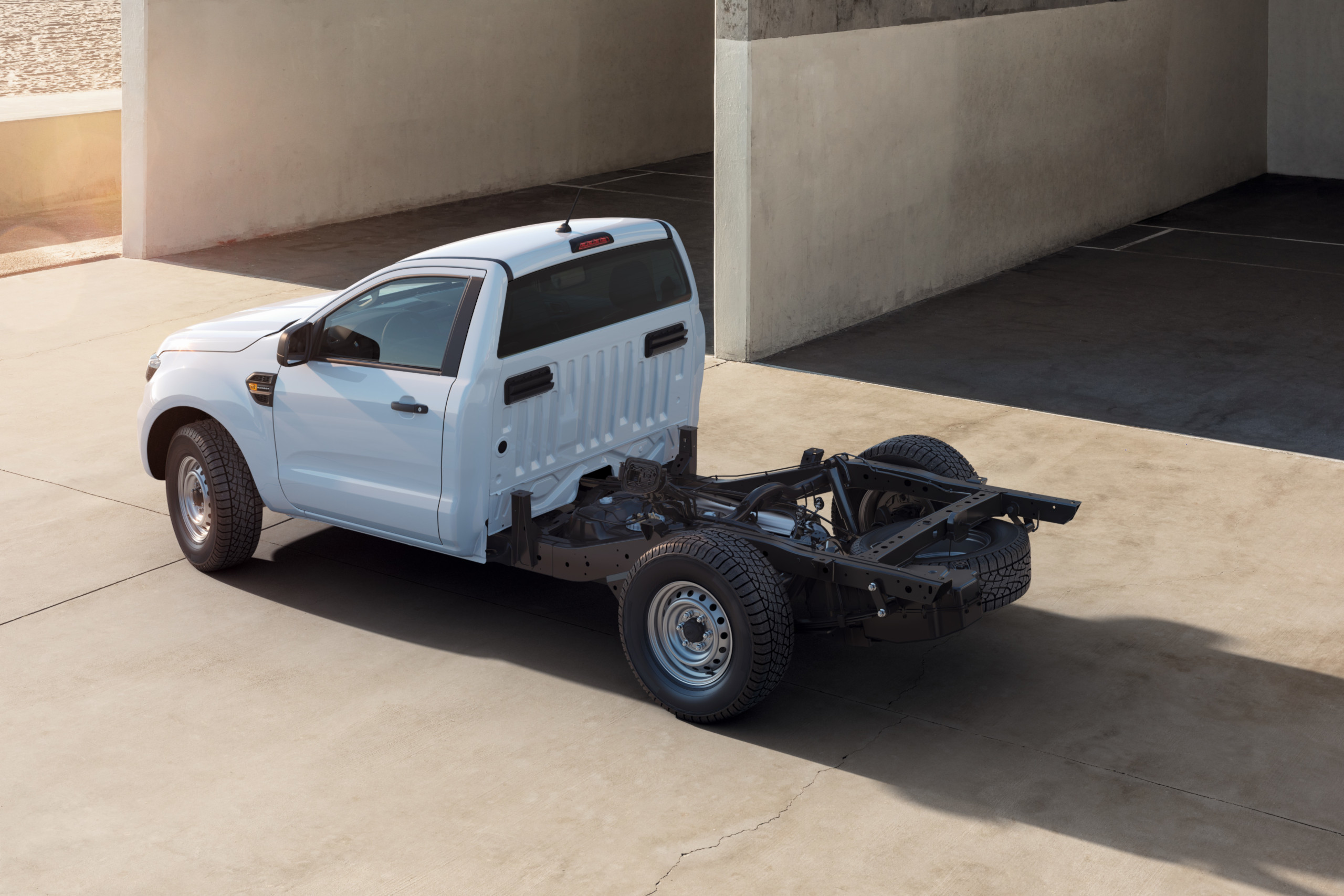 The Ford Ranger is Now Available as a Chassis Cab