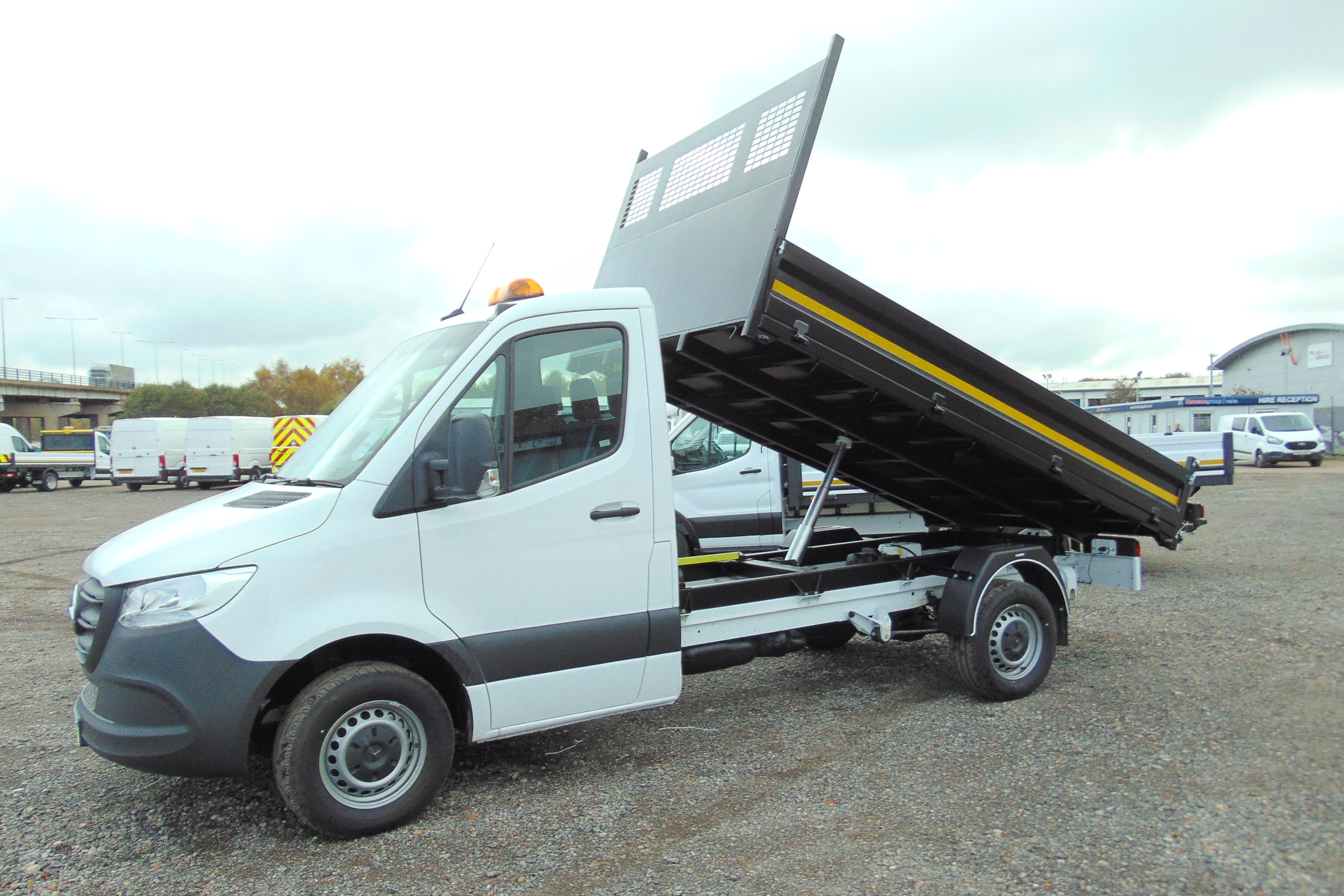 Tipper Van Available For Lease