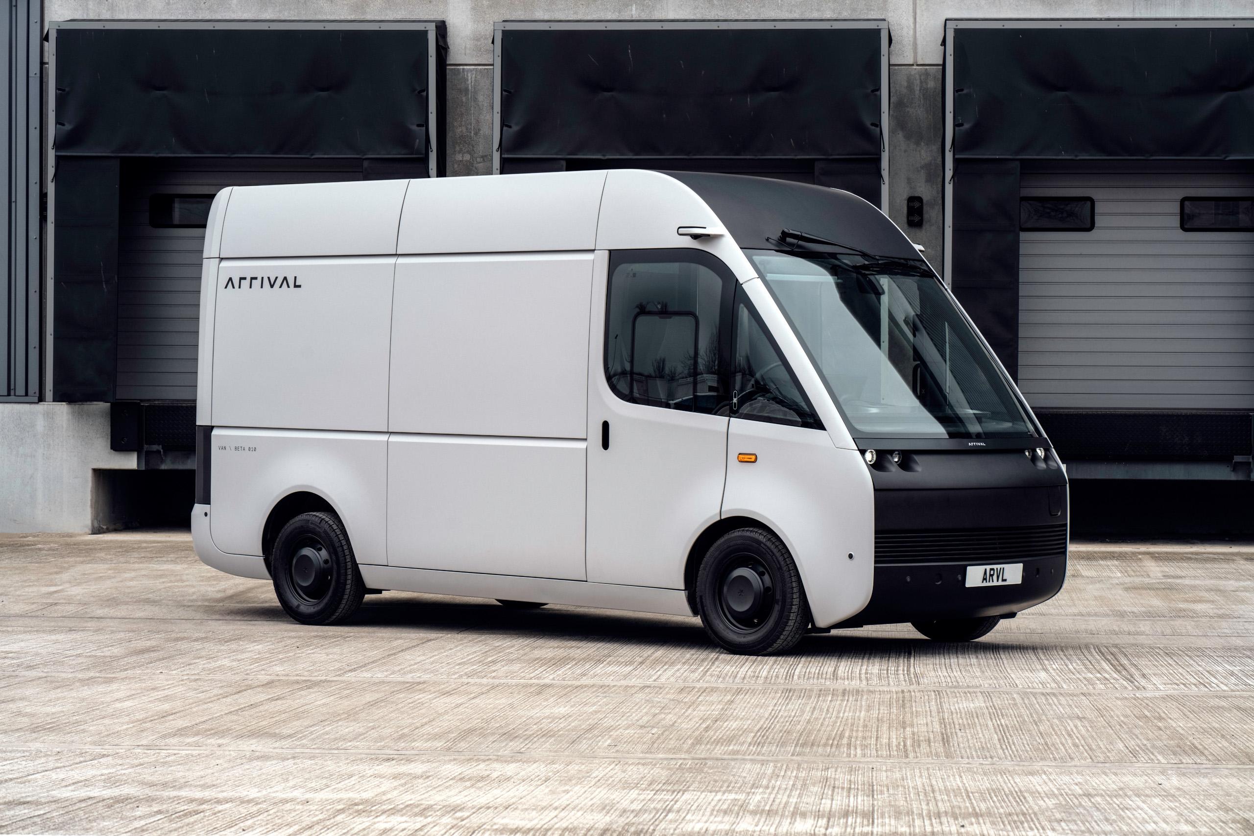 New UK Built Arrival Electric Panel Van Revealed