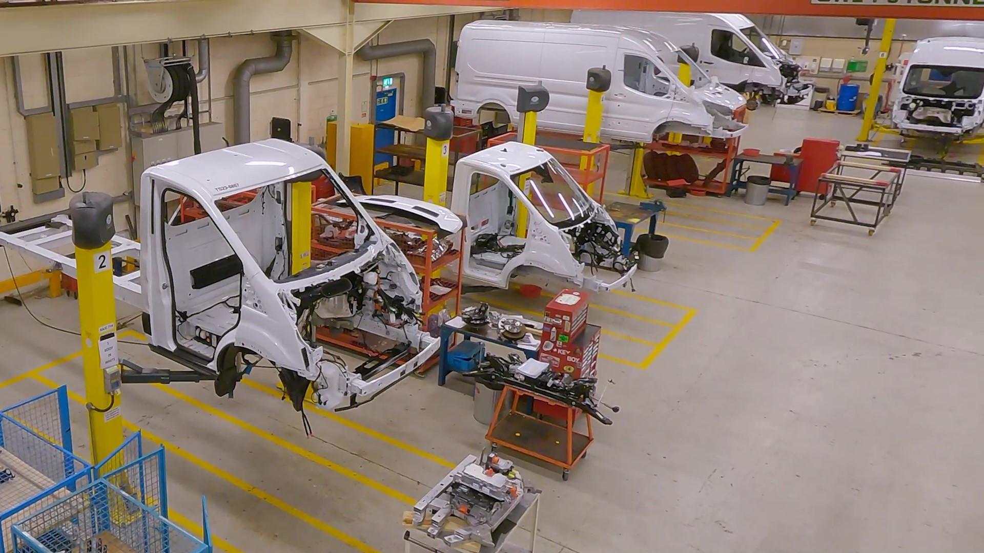 Ford E-Transit Production
