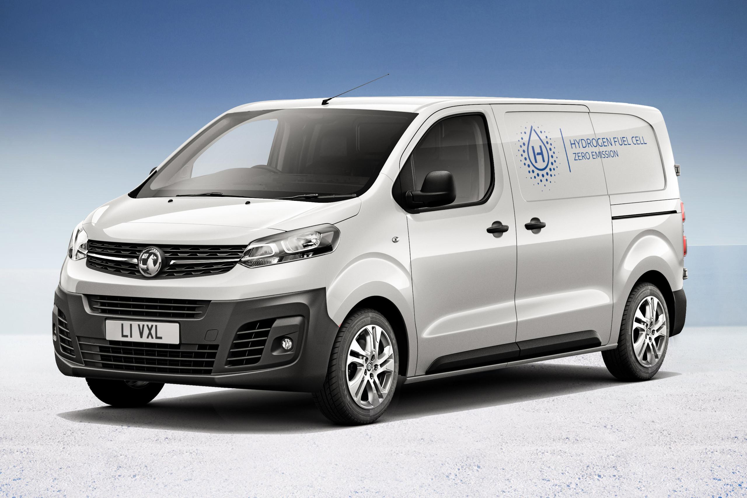 Vauxhall Reveals the Vivaro-e Hydrogen